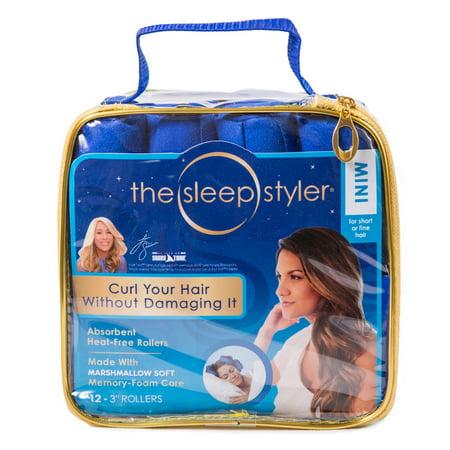 As Seen On Tv Sleep Styler Hair Curlers  Mini