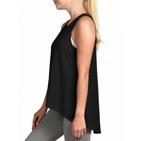 Yogalicious Women's Tie Back Tank Top