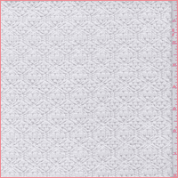 White Lattice Crochet Lace, Fabric By the Yard