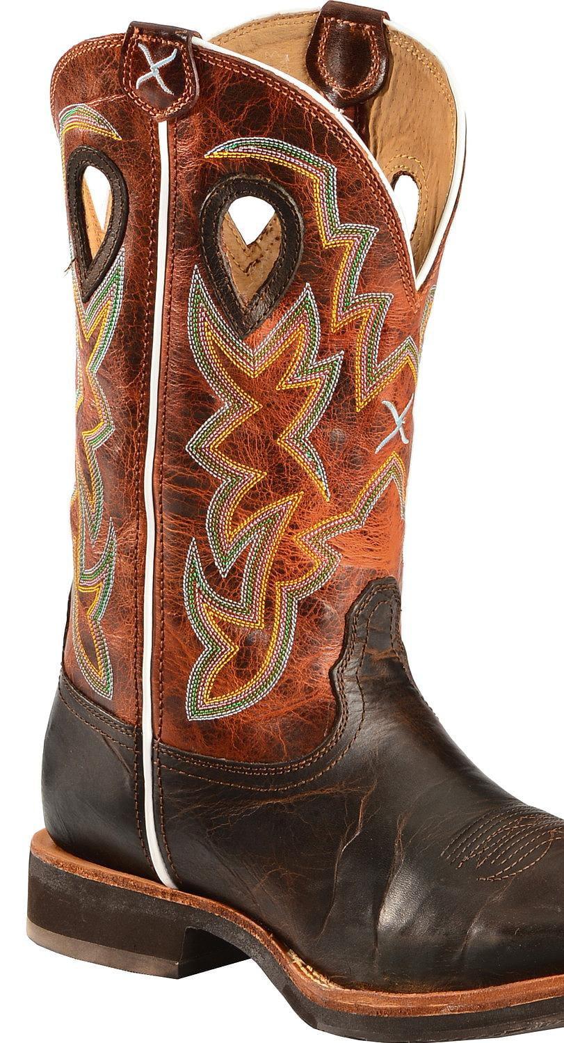 d88d8756c94 Twisted X Men's Horseman Cowboy Boot Square Toe - Mhm0014