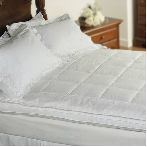 300 thread count down feather bed in multiple sizes