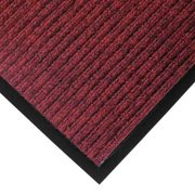 NOTRAX 117S0034RB Carpeted Entrance Mat, Red/Black, 3 x 4 ft