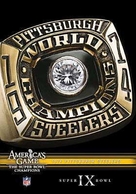 NFL America's Game: Pittsburgh Steelers Super Bowl IX (DVD) by Allied Vaughn