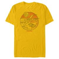 Star Wars Men's Retro X-Wing Sparkle T-Shirt
