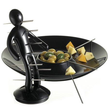 The EX By RICSB USA Skewer Unique Holder and Tray