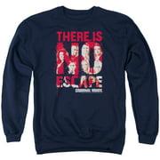 Criminal Minds No Escape Mens Crewneck Sweatshirt