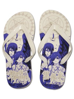 a6bb45ca8aa4 Product Image Foot Wear - Black Butler - New Ciel Sebastian Flip Flop  Slippers 26cm ge74517