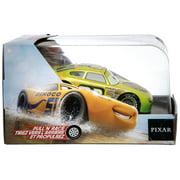 Disney / Pixar Cars Pull 'N' Race Darren Leadfoot Diecast Car