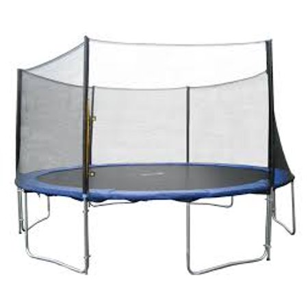 Bounce Pro 14-Foot Trampoline, with Safety Enclosure Combo