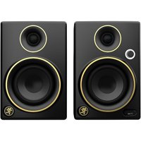 Deals on Mackie CR3 Limited Edition Gold Trim 3 in. Multimedia Monitors (Pair)