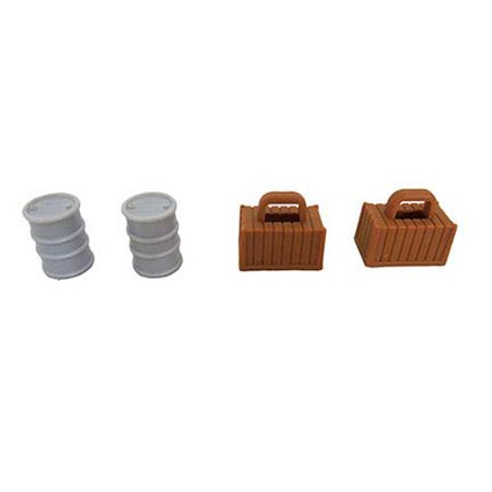 Thomas & Friends Super Station Train Set - Replacement Barrel and Crate FGR22 ()