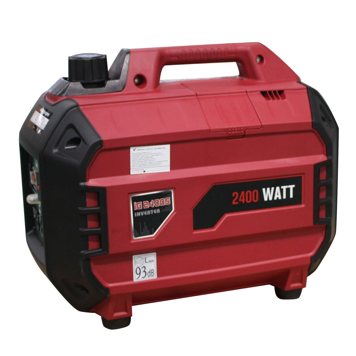 New MTN-G Portable 2400 Watt Inverter Gasoline Generator 4 Stroke 113cc Air Cooled EPA by MTN Gearsmith