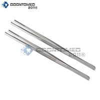 Odontomed2011® 12-inch Stainless Steel Tweezers - Two Pack Quality Instruments