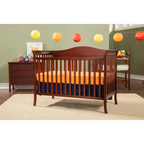 Baby Mod  Bella Crib and 3 Drawer Dresser Set with BONUS Changing Table, Cherry