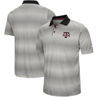 Texas A&M Aggies Colosseum Lesson Number One Polo - Gray