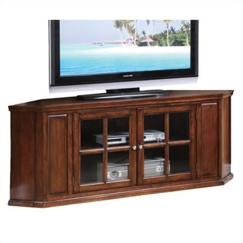 ACME Furniture Malka Corner TV Stand in Oak