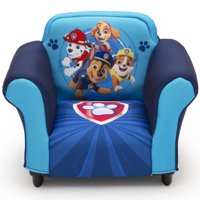 Nick Jr. PAW Patrol Kids Upholstered Chair with Sculpted Plastic Frame by Delta Children