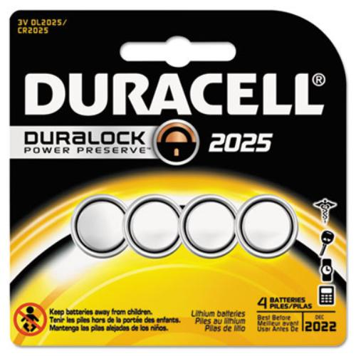 Duracell 2025 Coin Button Battery - Cr2025 - Lithium [li] - 3 V Dc - 1 Each (dl20254pk_40)