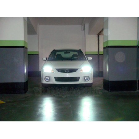Mazda Protege Protege5 323 Familia Bright White Light Bulbs Headlamps Headlights Head Lamps Lights