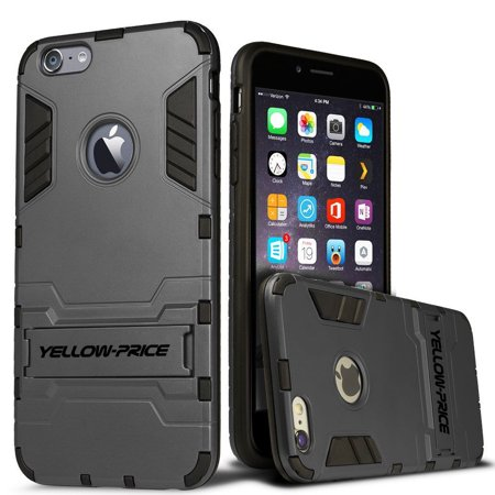 LivEditor iPhone 6 Plus 5.5'' Protective Case Armor [Built-in Stand+Anti-Shock Cover] - image 7 de 7
