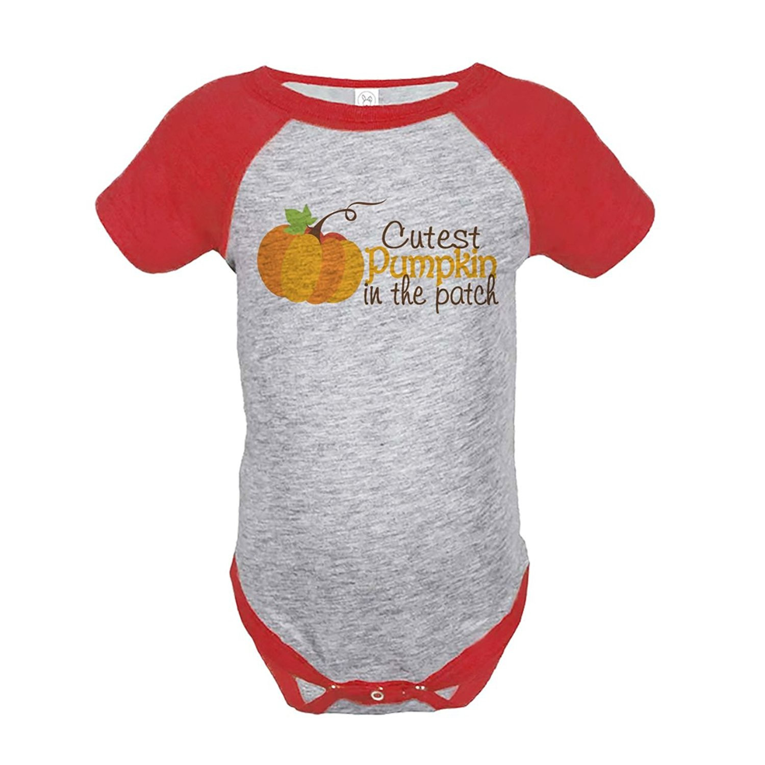 Custom Party Shop Baby's Cutest Pumpkin In The Patch Thanksgiving Onepiece - 6 Month Onepiece