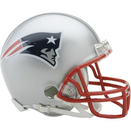 Miami Football Helmet (Riddell New England Patriots VSR4 Mini Football)