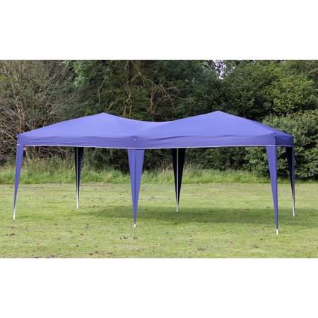 New 10' x 20' Palm Springs BLUE Pop UP EZ Set Up Canopy Gazebo Party Tent - Party Store Palm Springs