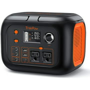 【Limited-Supply Offer】TrekPow 296Wh 80000mAh Portable Power Station, Solar Generator, 350W, Lithium Battery Emergency Power Station with 2 AC Outlet 2 DC 3 USB Ports