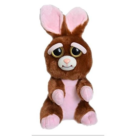 William Mark Feisty Pets Vicky Vicious Plush Adorable Plush Stuffed Bunny that Turns Feisty with a Squeeze (Snug A Bunny)