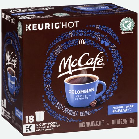 Mccafé Mccafe Coffee Pods Colombian 18ct