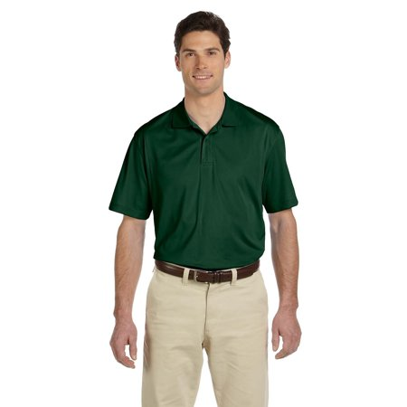 Branded Harriton Mens Micro-Piqué Polo Shirt - DARK GREEN - XL (Instant Saving 5% & more on min