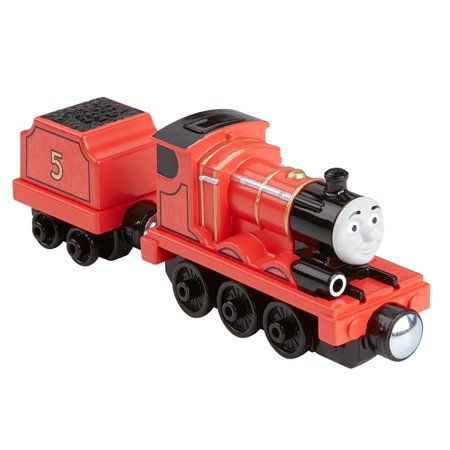 Fisher-Price Thomas The Train Take-N-Play Talking James, Sturdy collectible die-cast train engine By FisherPrice Ship from US - James The Train