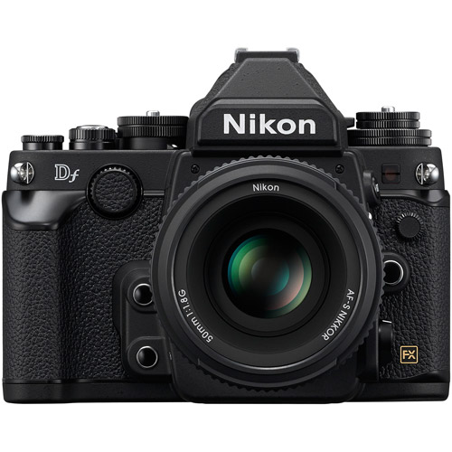 Nikon Black Df Digital SLR Camera with 16.2 Megapixels and 50mm Lens Included by Nikon