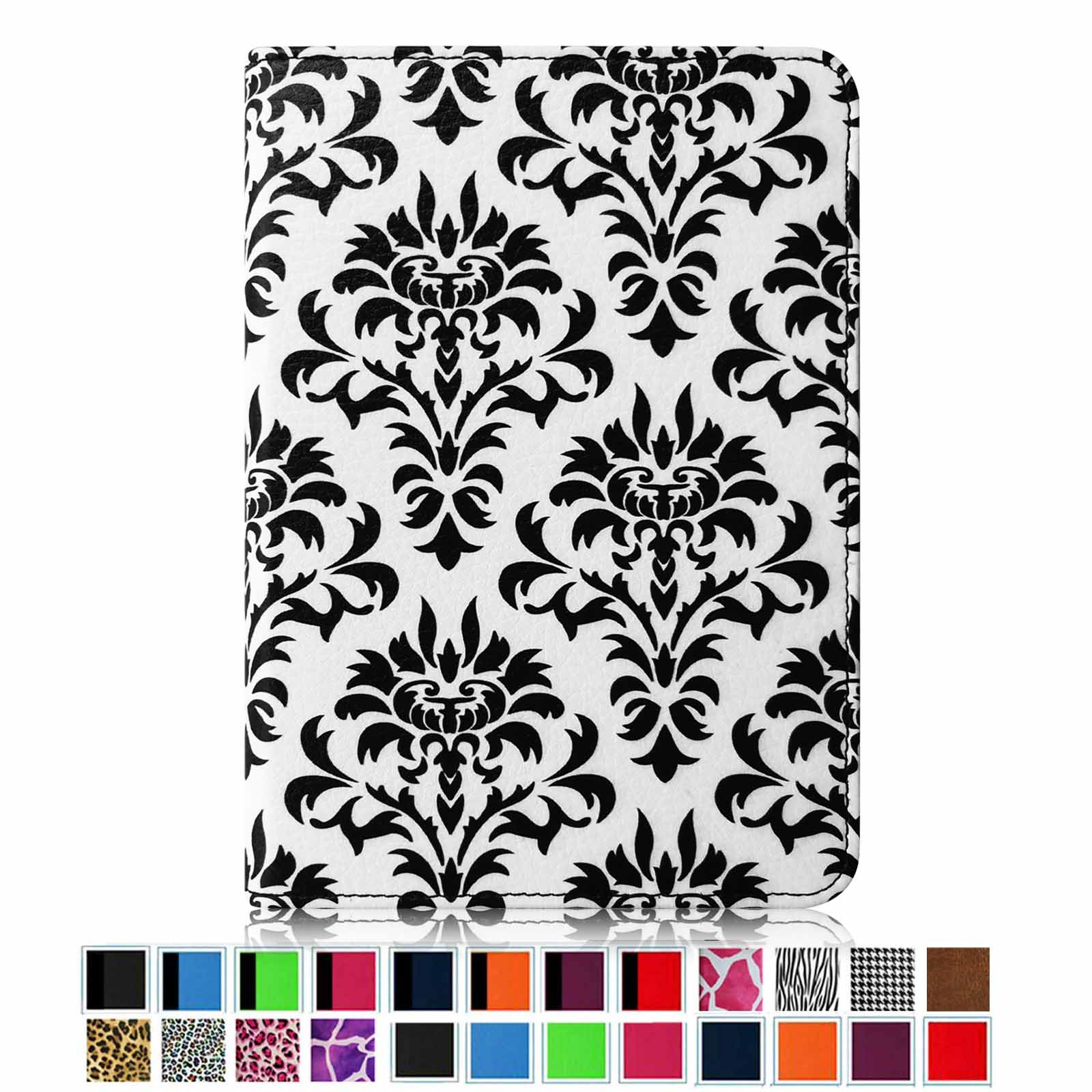All-New Amazon Kindle Paperwhite Case - Fintie The Book Style PU Leather Folio Cover with Auto Sleep/Wake, Versailles