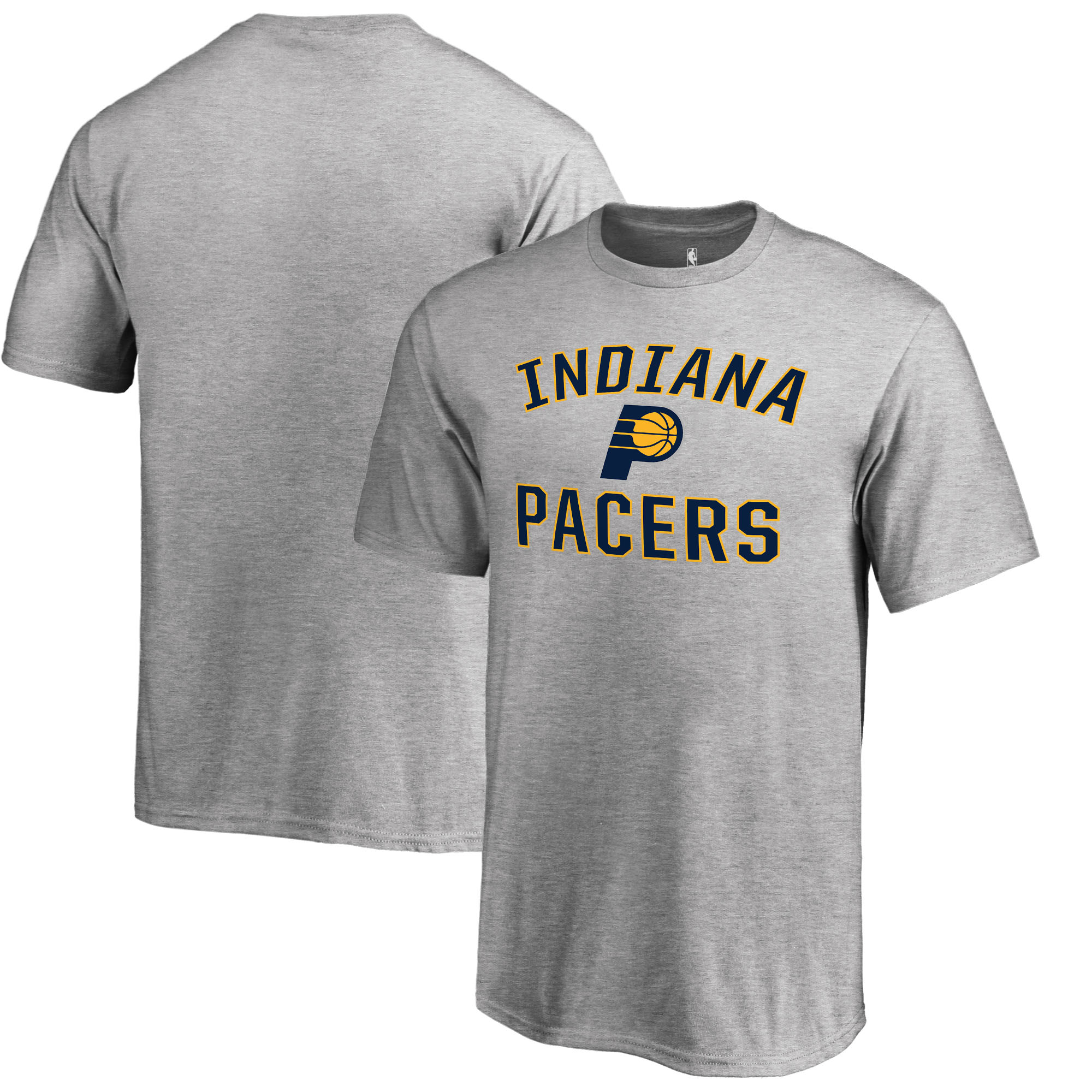 Indiana Pacers Fanatics Branded Youth Victory Arch T-Shirt - Heathered Gray
