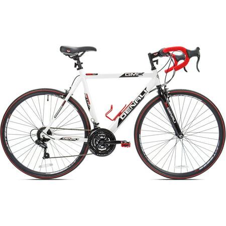 25  700C Gmc Denali Mens Bike  White Red