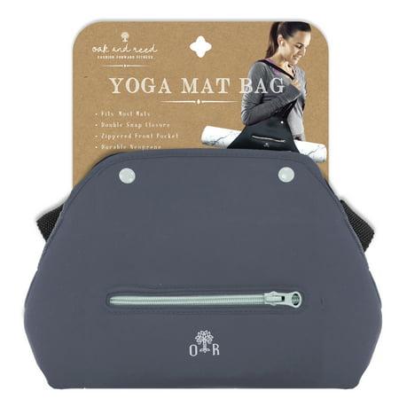 Oak And Reed Yoga Mat Bag Grey Mint Walmart Com