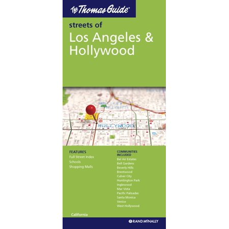 Thomas Guide Folded Map Streets of Los Angeles and Hollywood ... on morrell map, mccormick map, lily map, jeanette map, a.t. map, p.a map, harding map, theran map, leich map, rupert map, jones valley map, supreme map, morgan map, missouri general assembly map, papas map, caban map, adan map, barbosa map, thorns map, s.s. map,