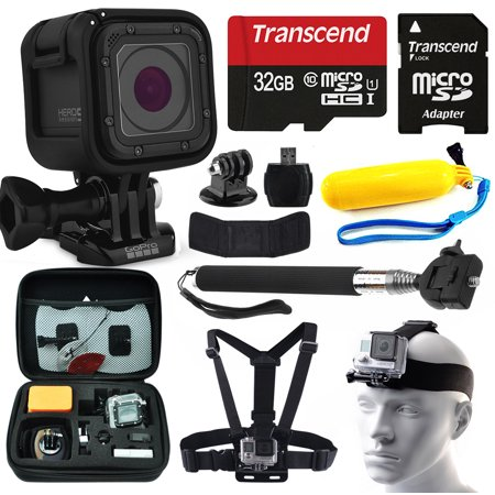 gopro hero5 session hd action camera chdhs 501 with 10 piece accessories bu. Black Bedroom Furniture Sets. Home Design Ideas