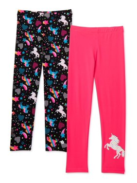 Limited Too Girls 4-16 Printed Yummy Leggings, 2-Pack