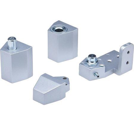 KABA ILCO IL-OP-10-LH-AL  FLUSH SETS Aluminum Pivot Hinge