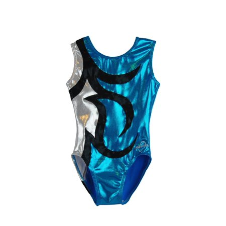 Obersee Kids' Abby Turquoise Gymnastics