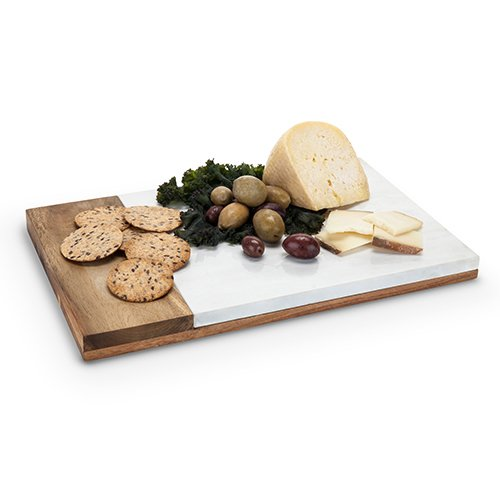 Cheese Cutting Boards, Country Cottage Small Marble Wooden Cutting Board Cheese