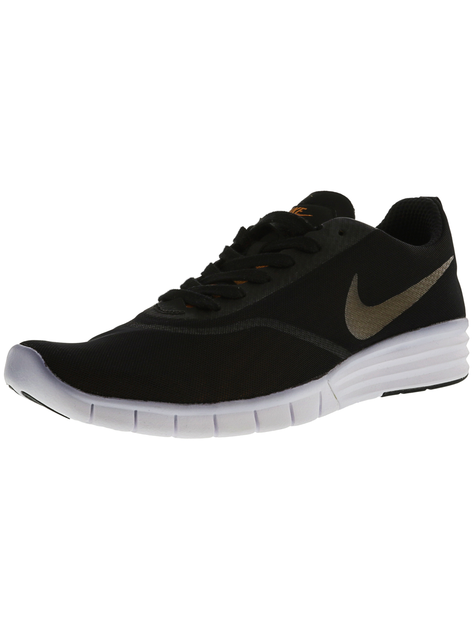 4d8156dd431a Nike Men s Sb Lunar Paul Rodriguez 9 Black   Sunset - White Ankle-High  Skateboarding Shoe 9.5M