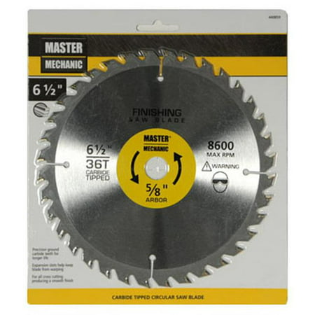 6-1/2 Inch Smooth-cut Combo Circular Saw Blade, Disston, 440859