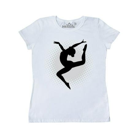 Ballet Dancer Silhouette Ballerina Women's T-Shirt