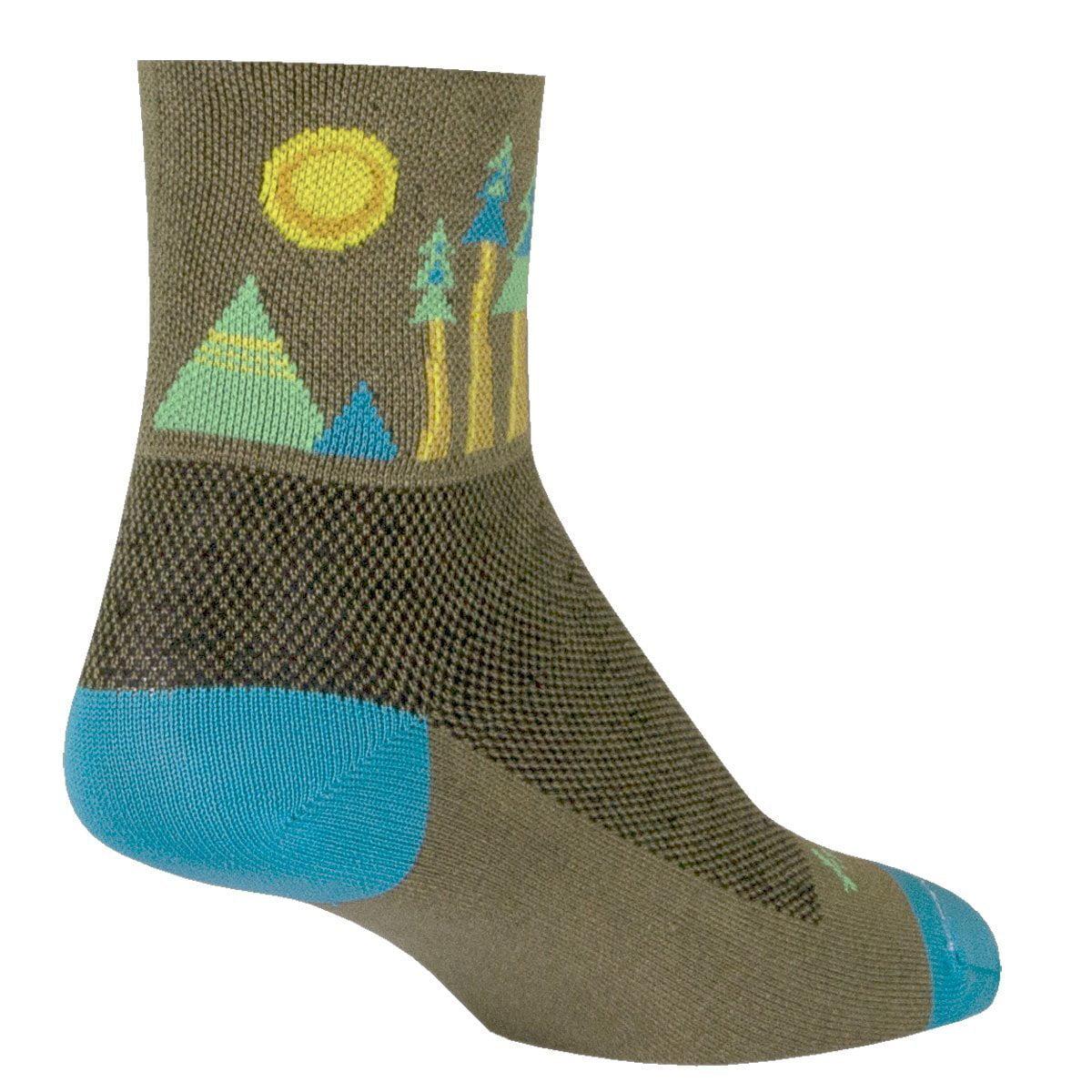 "Socks - Sockguy - Classic 3"" - Sierra L/XL Cycling/Running"