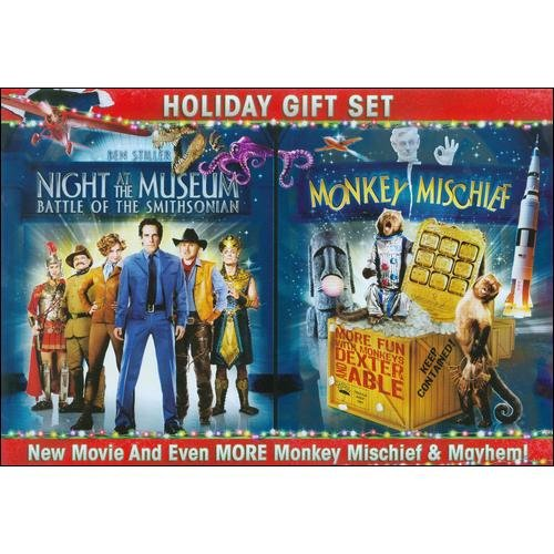 Night At The Museum: Battle Of The Smithsonian / Night At The Museum: Monkey Mischief (2-Disc) (Widescreen)