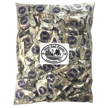 York Peppermint Milk Chocolate Pattie Bulk Candy (5lb Bag)