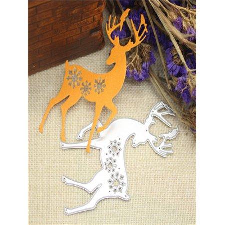 Merry Christmas Metal Cutting Dies Stencils Scrapbooking Embossing DIY Crafts A